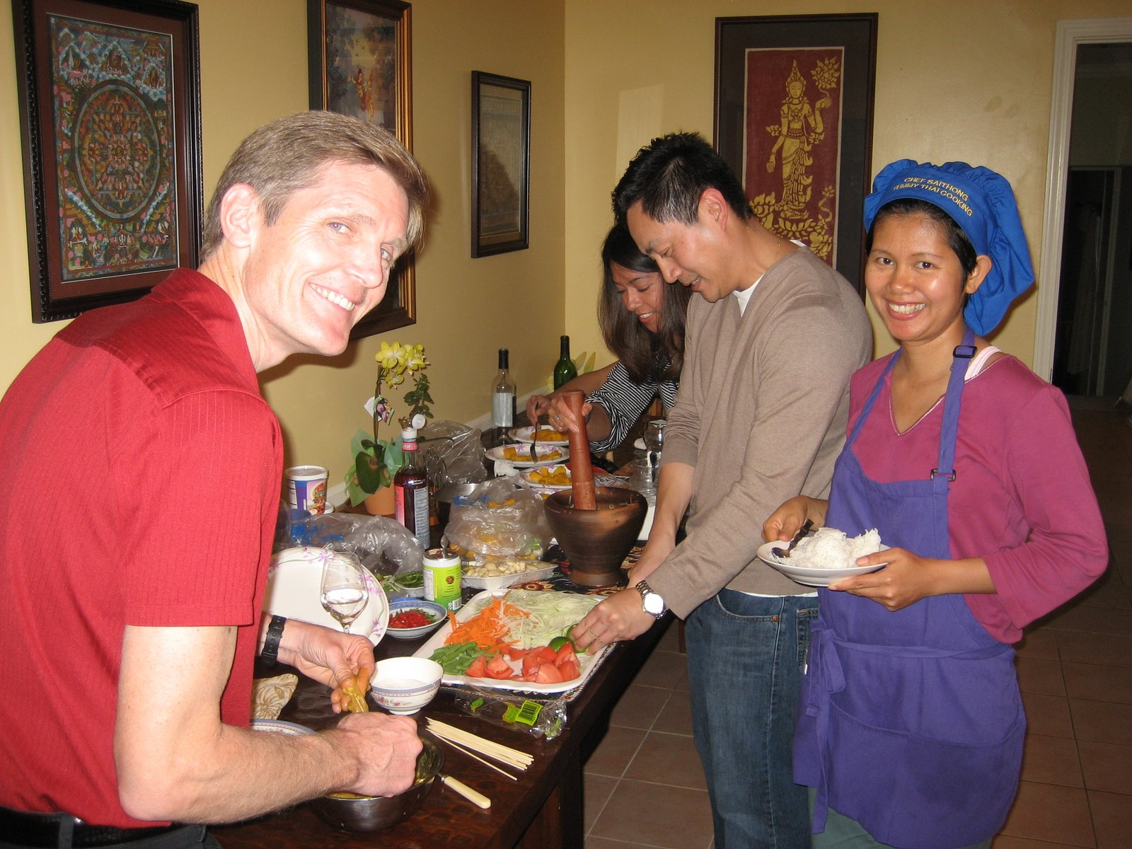 Thai Cooking Class with Friends 2